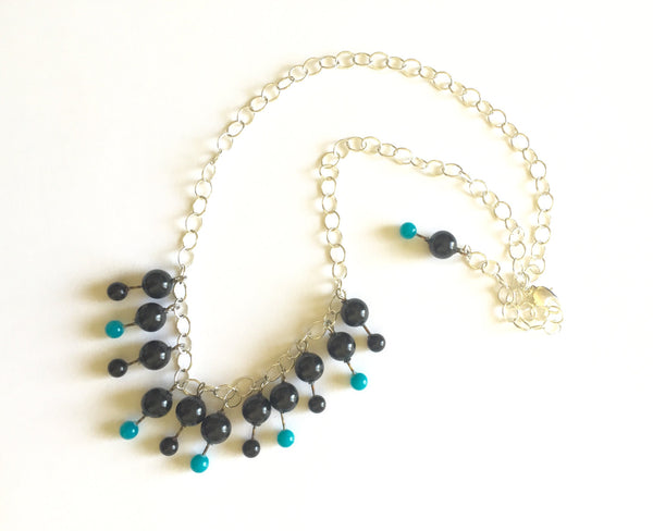 lucite statement necklace