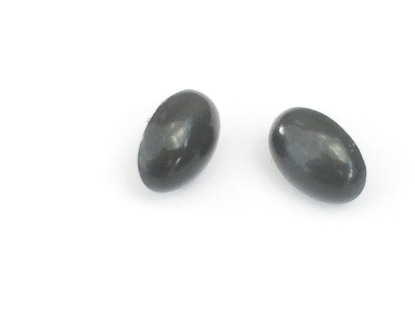 dark grey earrings