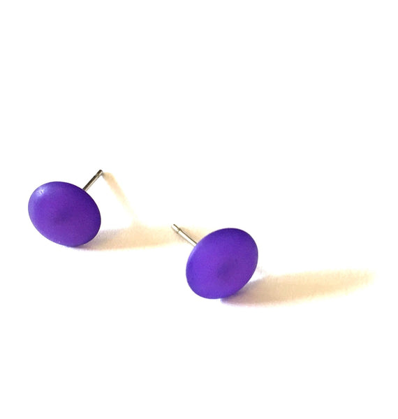 deep purple studs
