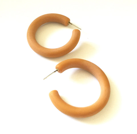 frosted camel hoops