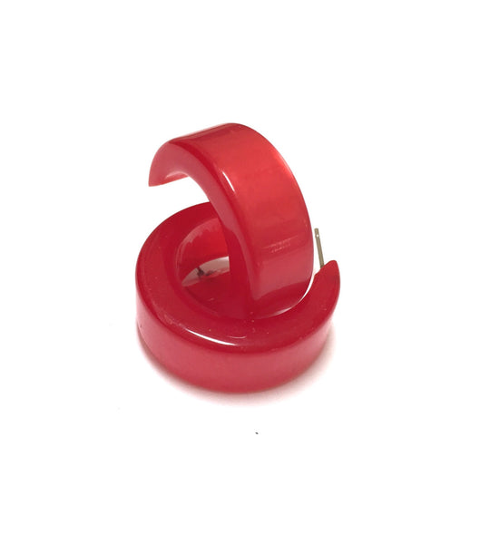 bright red mod hoops