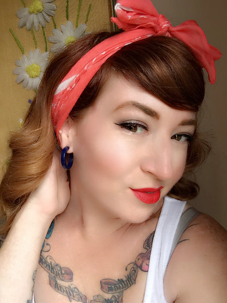 pinup earrings