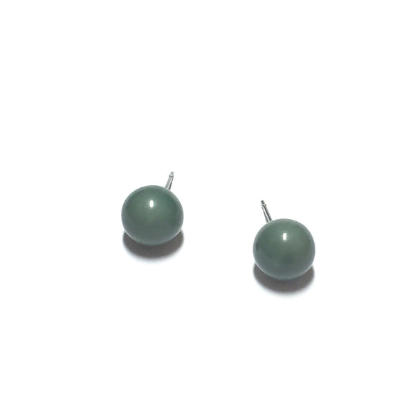 small teal studs