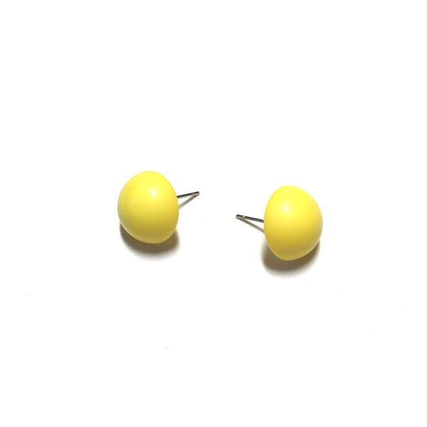 canary yellow earrings