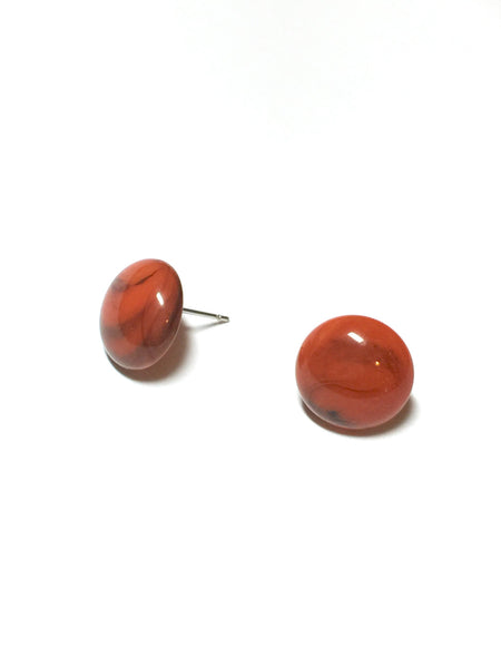 vintage lucite stud earrings