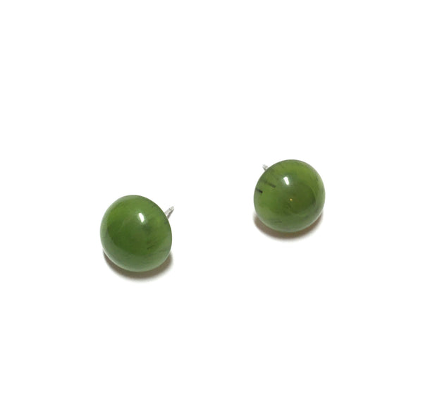 leetie lucite earrings green