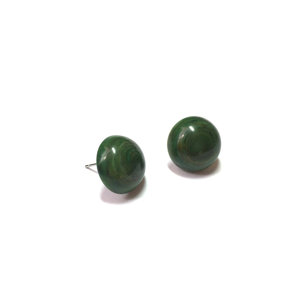 dark green lucite post