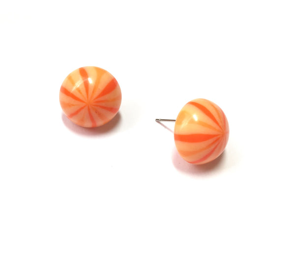 orange lucite jewelry