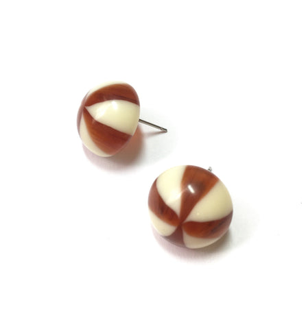 tortoise candy earrings