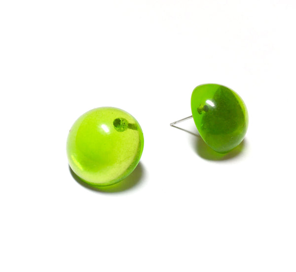 apple juice earrings
