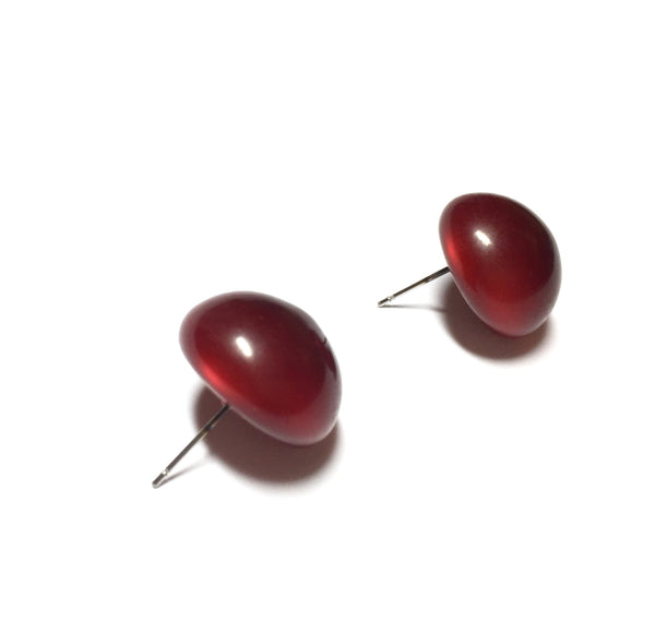red rockabilly earrings
