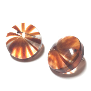 striped tortoise earrings