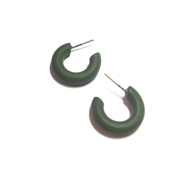 tiny green hoops