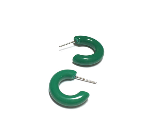 green small hoops