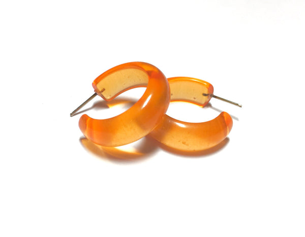 orange small hoops