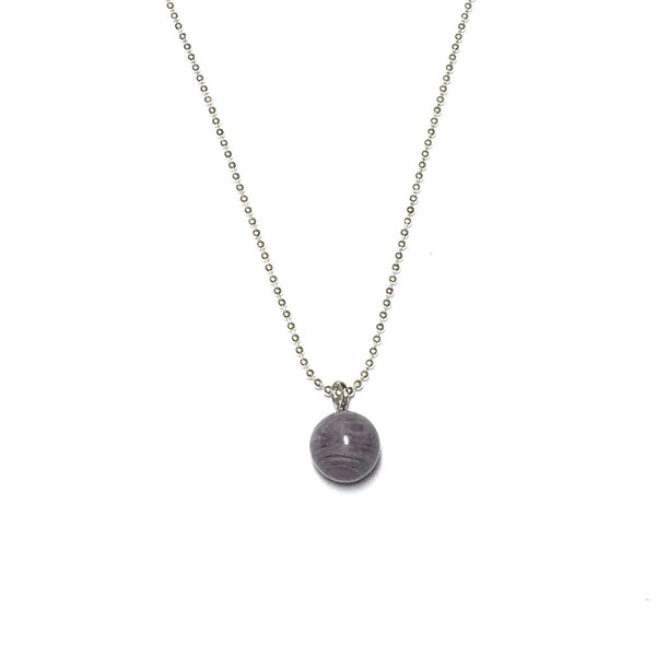 grey necklace chain