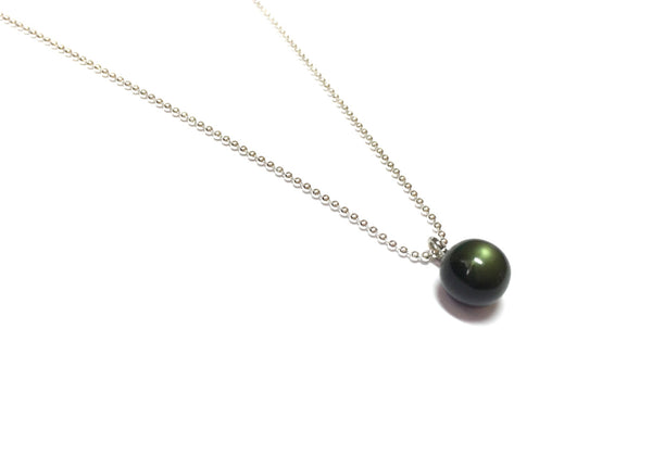 green chain necklace