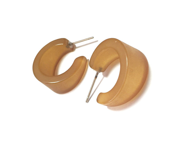 antique gold retro earrings