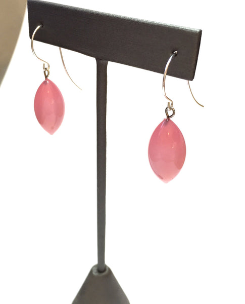 pink drop earrings jewelry
