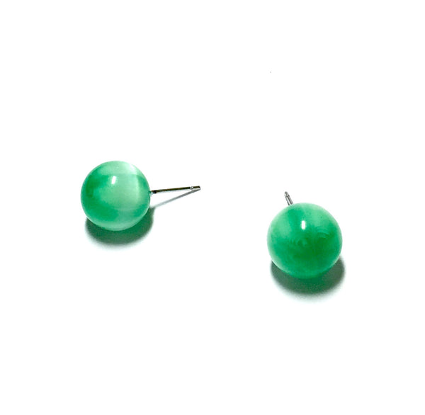 green lucite jewelry