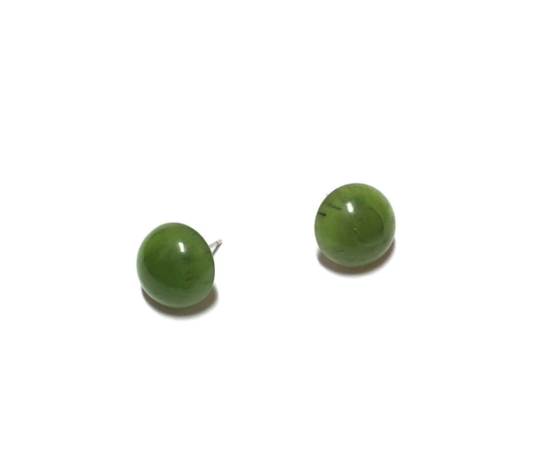 vintage green earrings