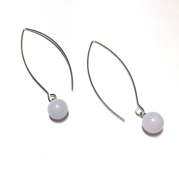 pastel purple earrings