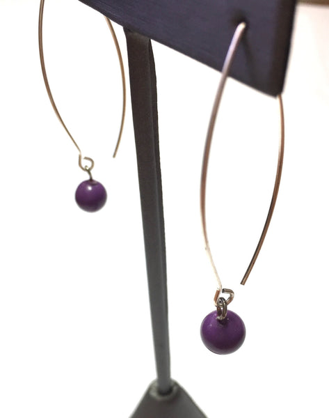 long purple jewelry