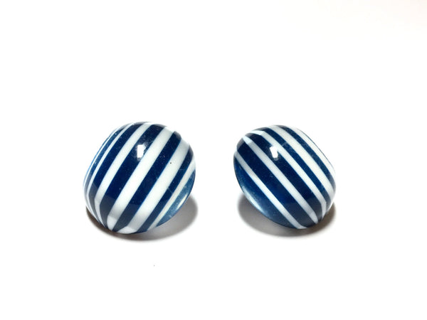 striped earrings