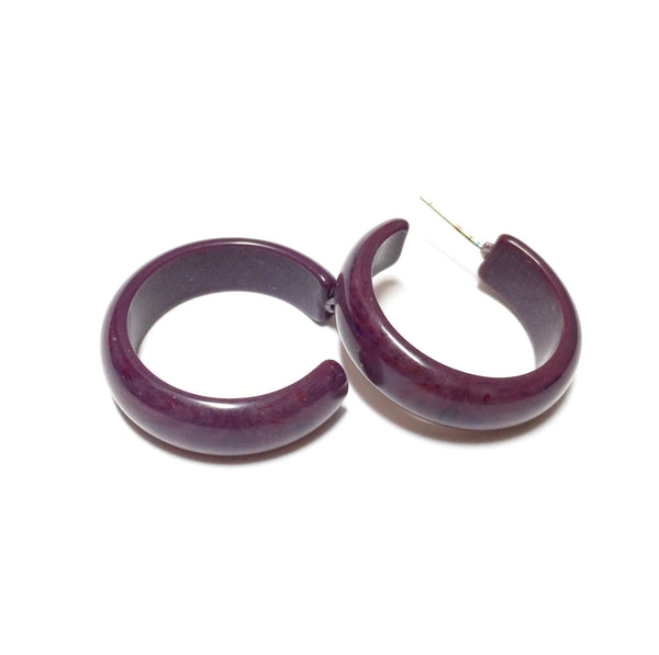 sustainable hoop earrings