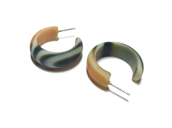 marbled hoops