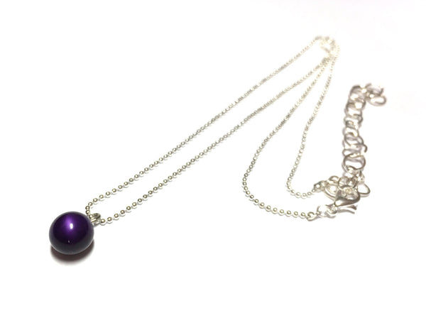 deep purple necklace