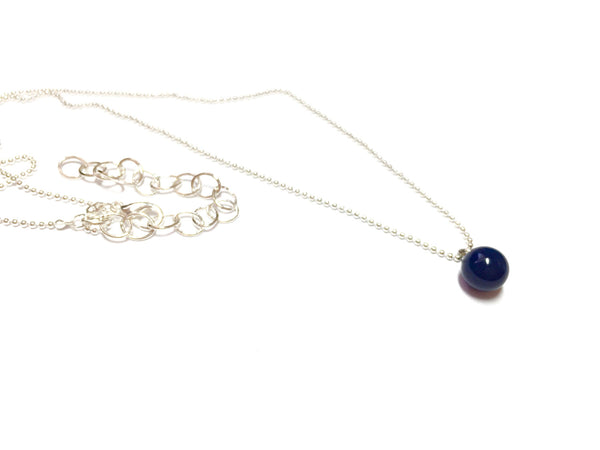 navy blue necklace