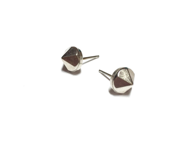 small steel earrings