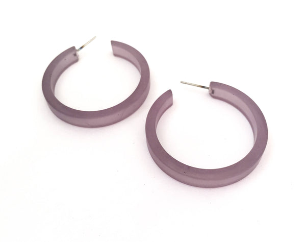grey frosted hoops