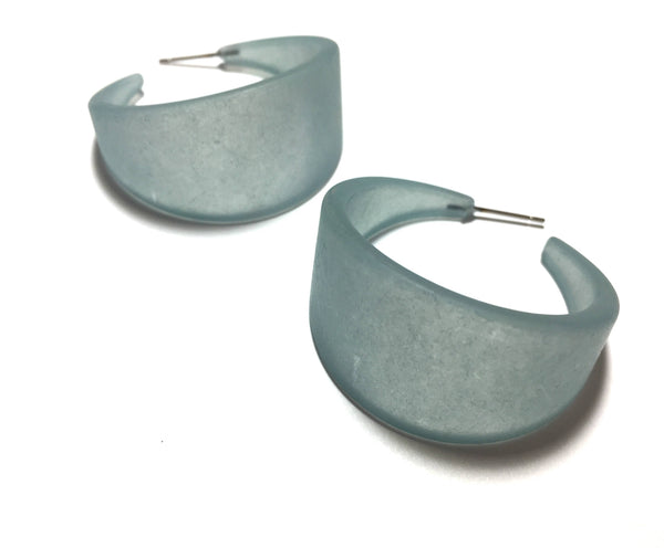 teal bettie hoops