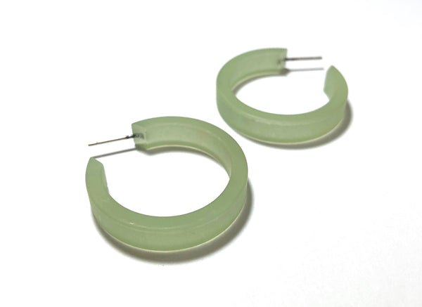 soft green hoops