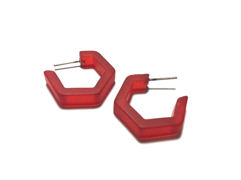 red honeycomb hoops