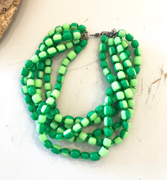sylvie necklace green