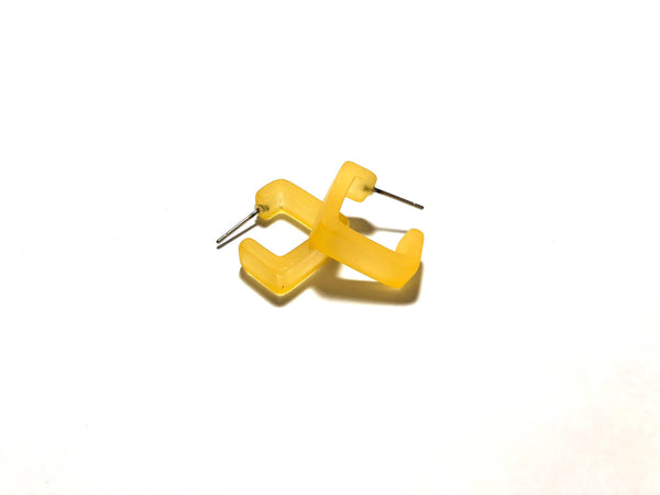 dark yellow square hoop