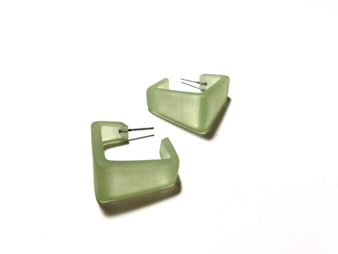 green square hoops