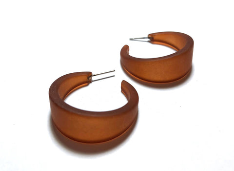 big brown marilyn hoops