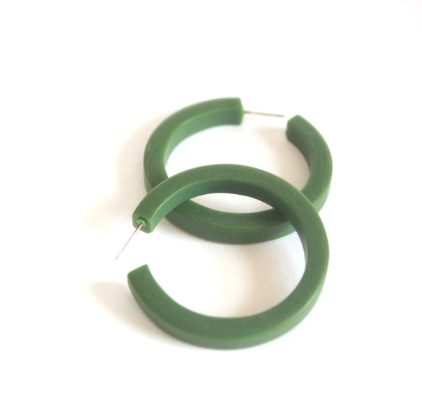dark green classic hoops