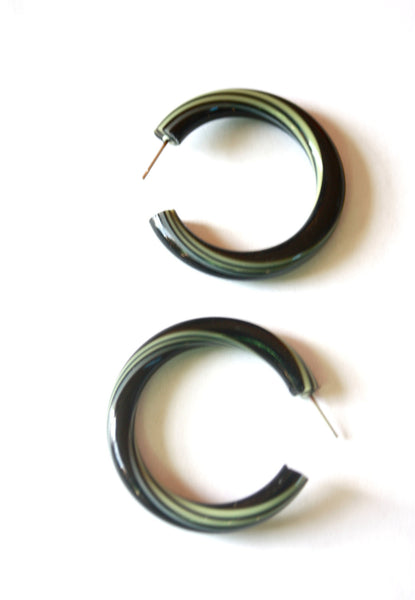 big hoops black stripe