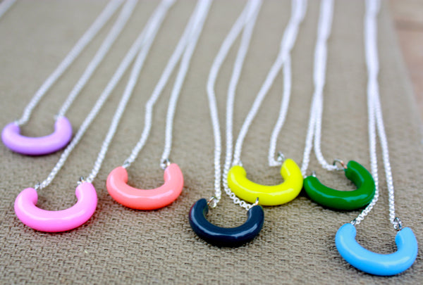 leetie lucite necklaces
