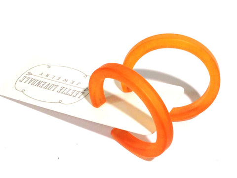 frosted orange hoops