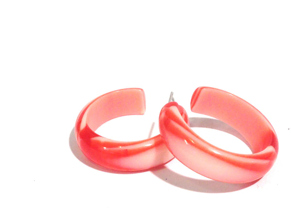 peppermint hoops