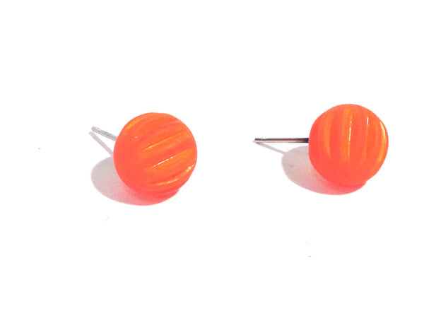 bright orange jewelry