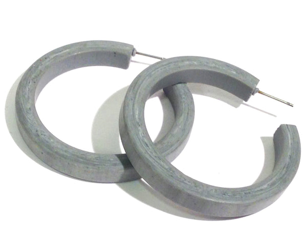 grey marbled classic hoops