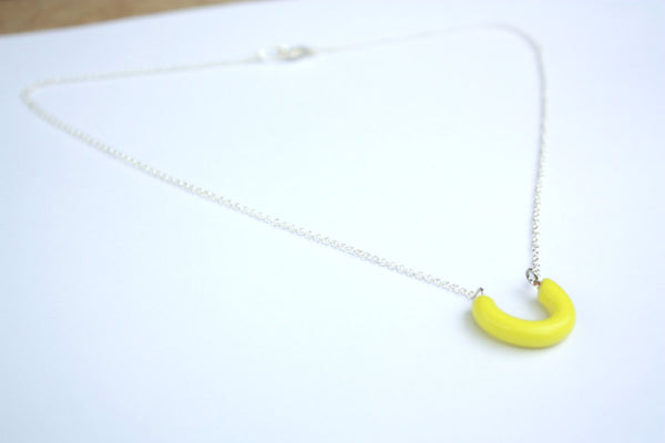 yellow lucky necklace