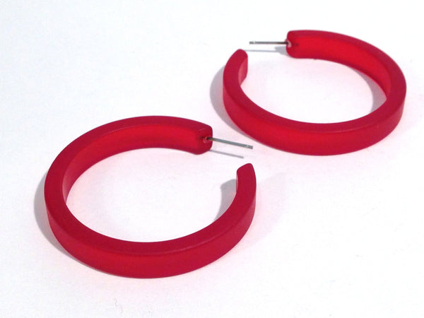 big red classic hoops